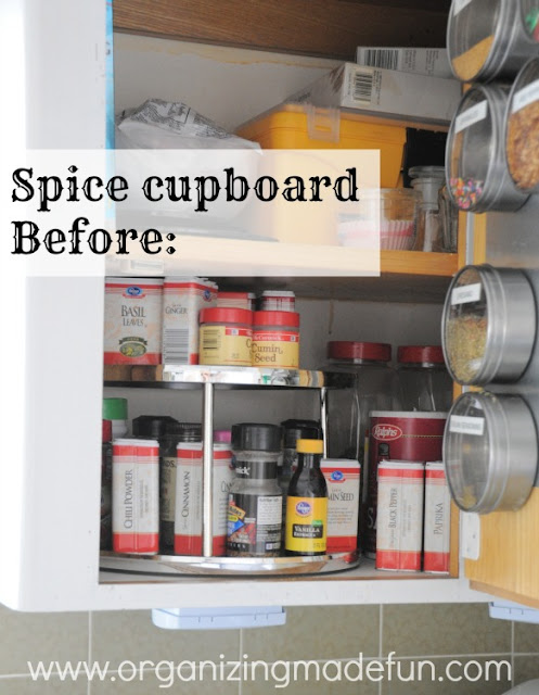 spice cupboard spices