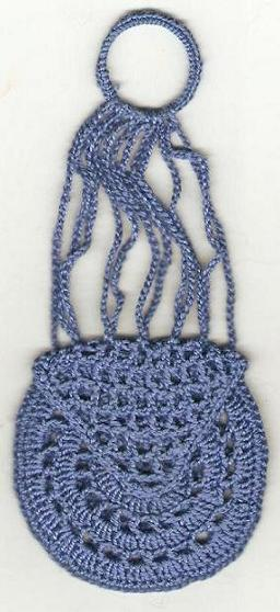 Crochet Miser Bag Pattern : Lady Felula the Forgetful: Crocheted Miser Purse