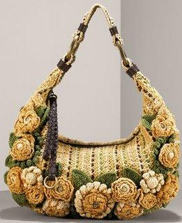 Online Crochet Patterns | Crocheted Amulet Bag Patterns