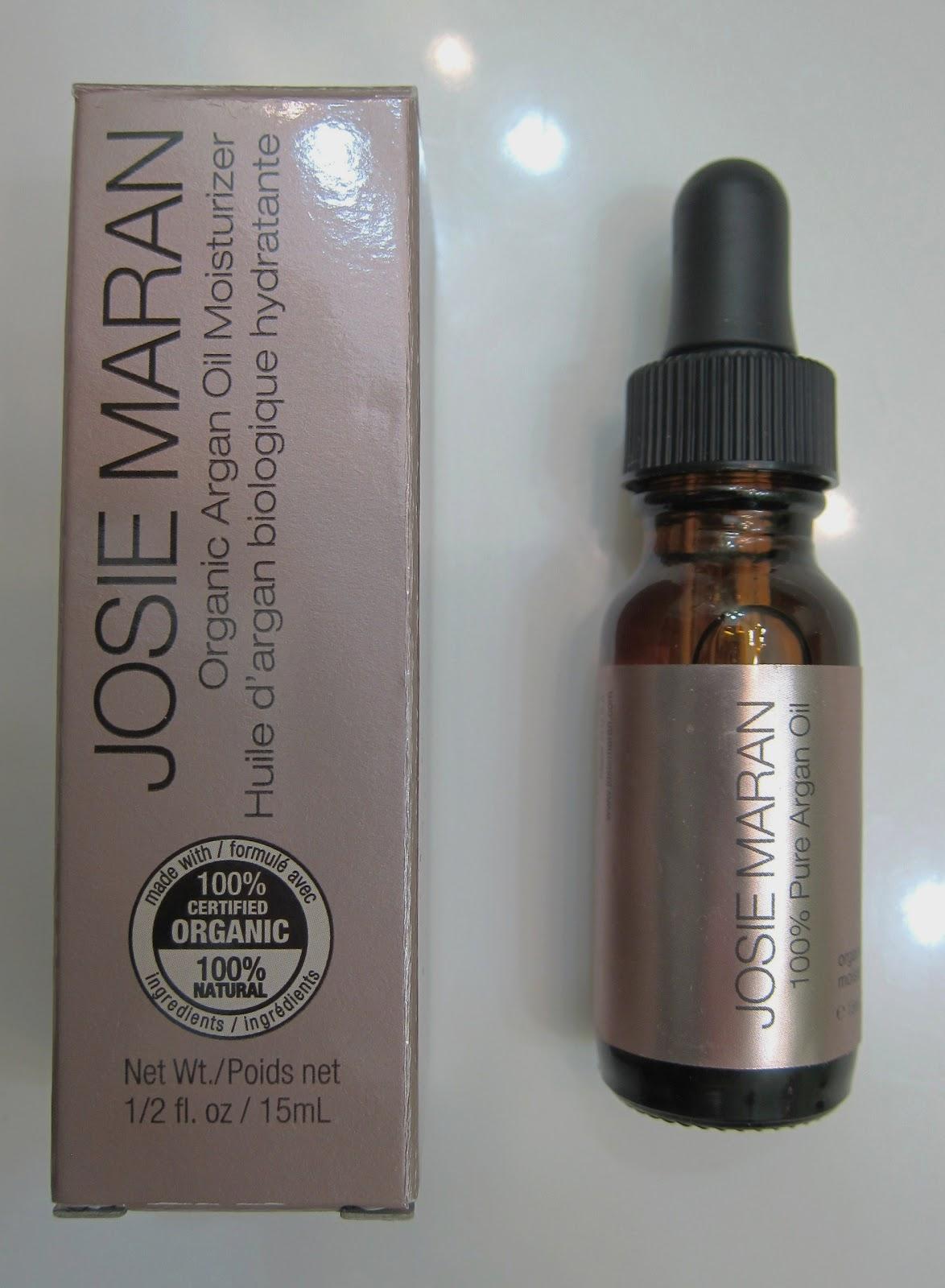 BEAUTIFUL CANVAS: Josie Maran Argan Oil Review Josie Maran Argan Oil Hair