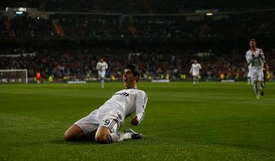 Morata celebra su gol