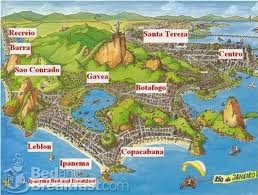 A origem dos bairros cariocas