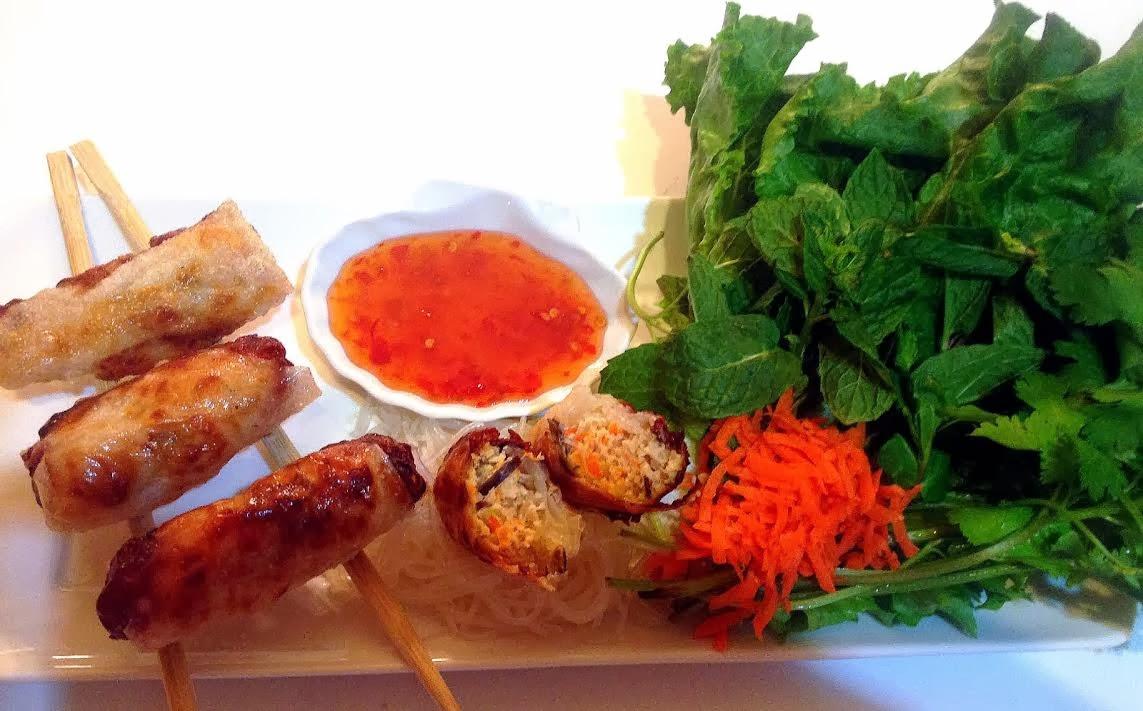 La fabrique gourmande ch gi heo t m nems vietnamiens Nems vietnamiens