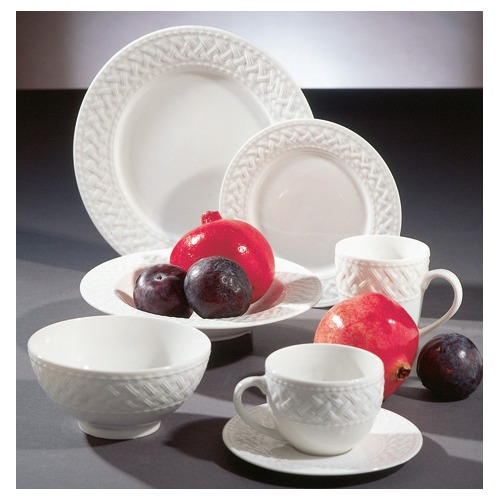 It has great reviews! Itu0027s microwaveable dishwasher safe and very reasonably priced. You can also buy by the piece versus having to buy sets. Bingo! : ten strawberry street dinnerware set - pezcame.com