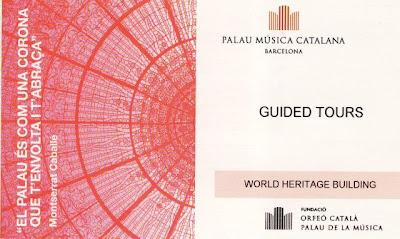Barcelona :  Palau Musica  Catalana