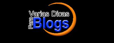Várias Dicas para Blogs