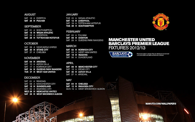 jadual penuh perlawanan manchester united man utd musim 2012 2013 epl liga perdana inggeris,english premier league manchester united fixtures schedules season 2012 2013,rumusan liga perdana musim 2011 2012,pemain baru manchester united musim 2012 2013,shinji kagawa profile,manchester united vs arsenal vs chelsea vs liverpool vs manchester city waktu malaysia,koleksi wallpaper background perlawanan manchester united jadual penuh,jadual perlawanan manchester united