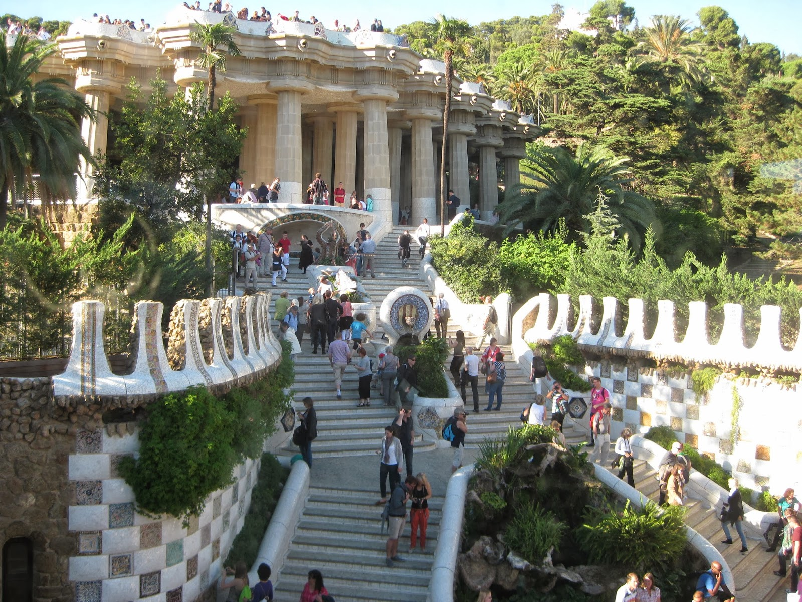 Barcelona - entrance to Park Guell