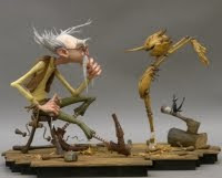 Pinocchio Movie - The Jim Henson Company production will be a 3D stop-motion animated version of Pinocchio, based on the edition of Carlo Collodi's classic tale illustrated by gris grimly.