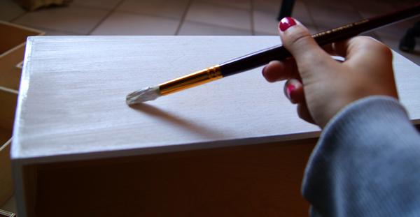 Glitters diary for Peinture sans sous couche pour meuble