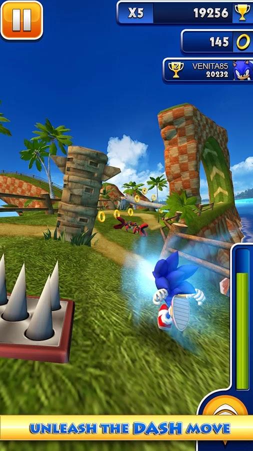 Android Sonic Dash Apk resimi 3