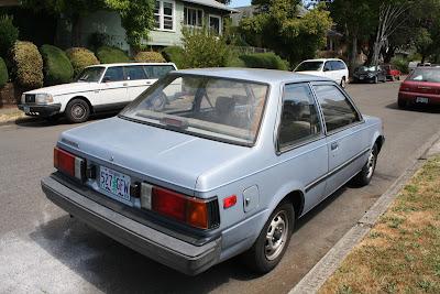 1986 Nissan Sentra.
