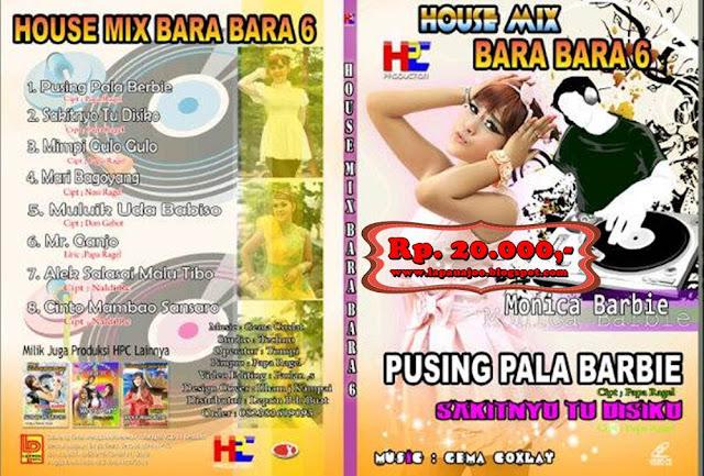 Monica Barbie - Pusing Pala Barbie (Album Housemix Minang)