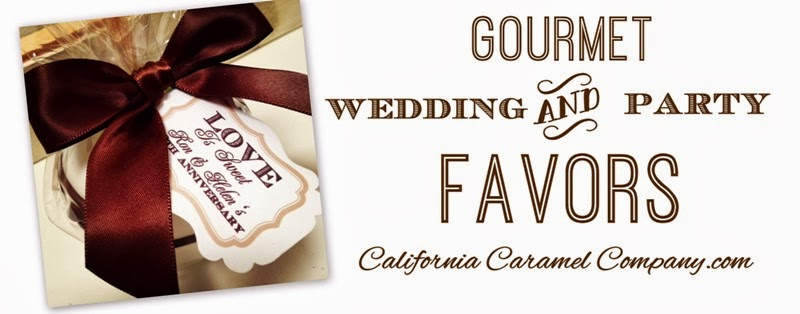 Wedding & Party Favors - California Caramel Company