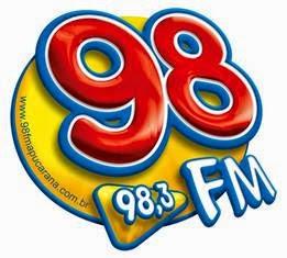 Rádio 98 FM de Apucarana PR ao vivo