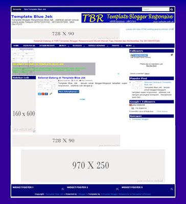 template blogger blue jek responsive