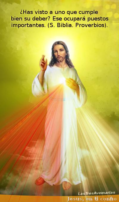 divina misericordia cumplir bien el deber