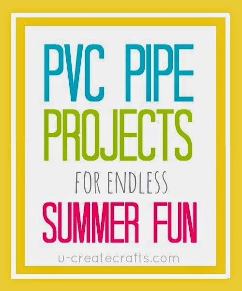 PVC Pipe Tutorial for endless summer fun! u-createcrafts.com