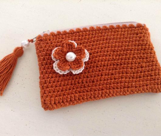Como hacer un monedero tejido monedero tejido a crochet - Patrones monederos ganchillo ...