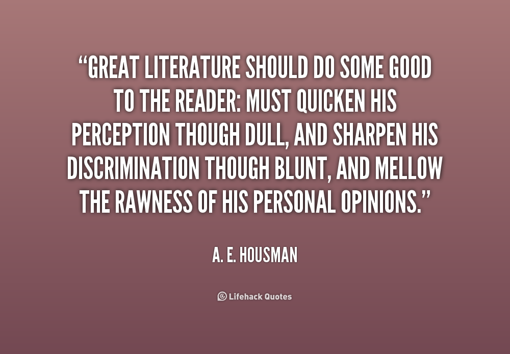 Quote literature review