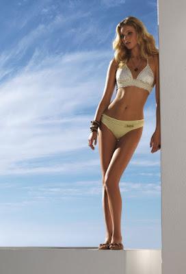 Elsa Hosk pretty in Calzedonia sexy bikini models photo shoot