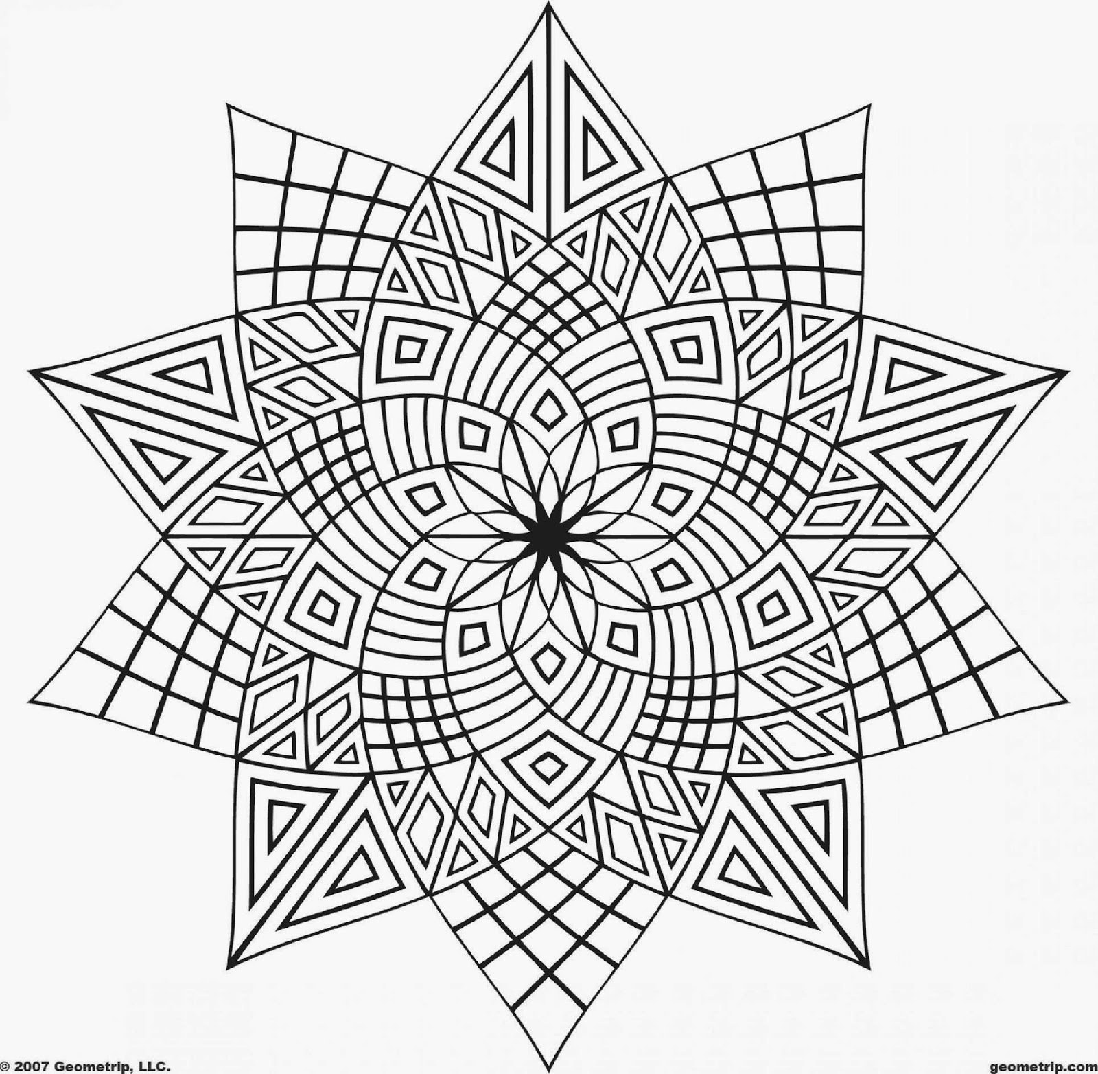 Adult Coloring Pages Print