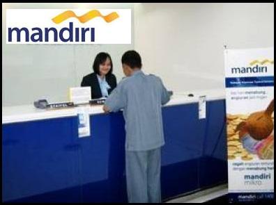 LOKER BANK MANDIRI, KERJA DI BANK, LOWONGAN PEGAWAI BANK MANDIRI