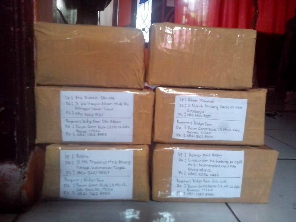 Pengemasan-Packing Voltage Stabilizer Accu