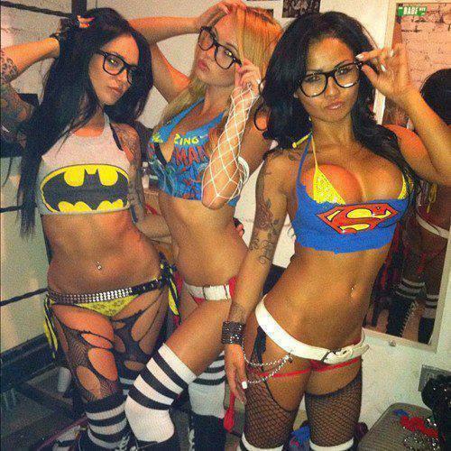 super heroinas gostosas