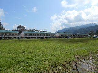 Kampong In Sarawak