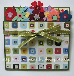 flowerpot pop up card