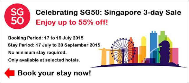 Agoda 【限時3日】金禧年優惠,新加坡 酒店 45折起,優惠至星期日(7月19日)。