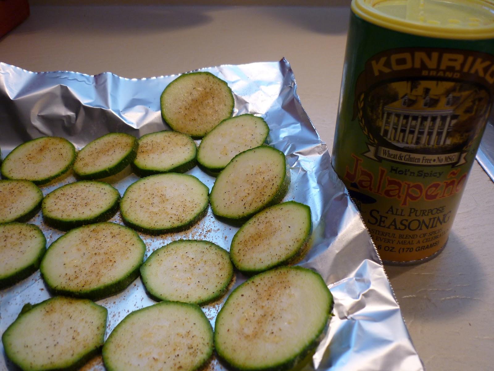 Jalapeno Zucchini Chips Recipe