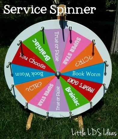 spinning wheel game ideas