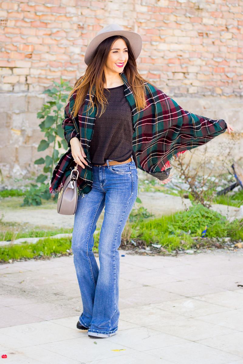 street style ponchos