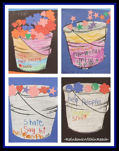 photo of: Decorated Bucket-Filling Projects via RainbowsWithinReach