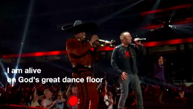 chris tomlin God's great dance floor cover