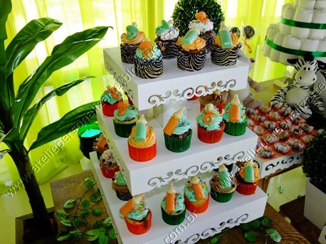 Decoração chá bebê Safári / Floresta provençal Porto Alegre