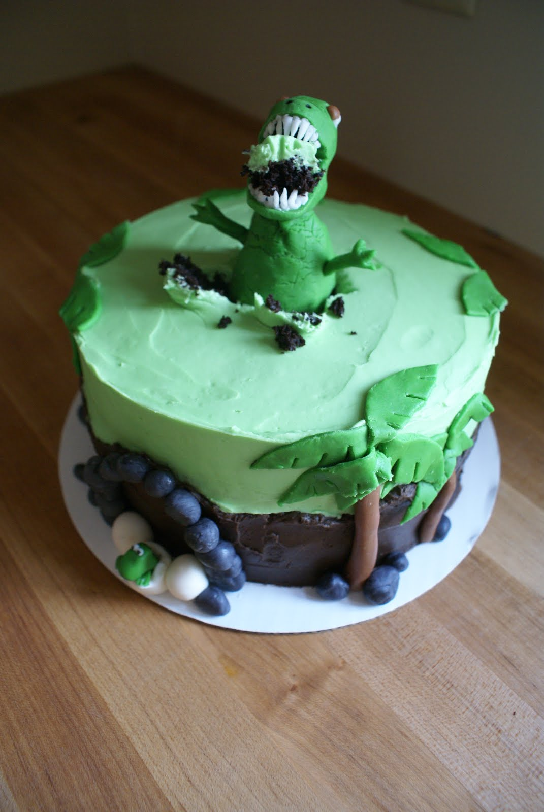 The Cooking Of Joy Dinosaur Birthday Cake