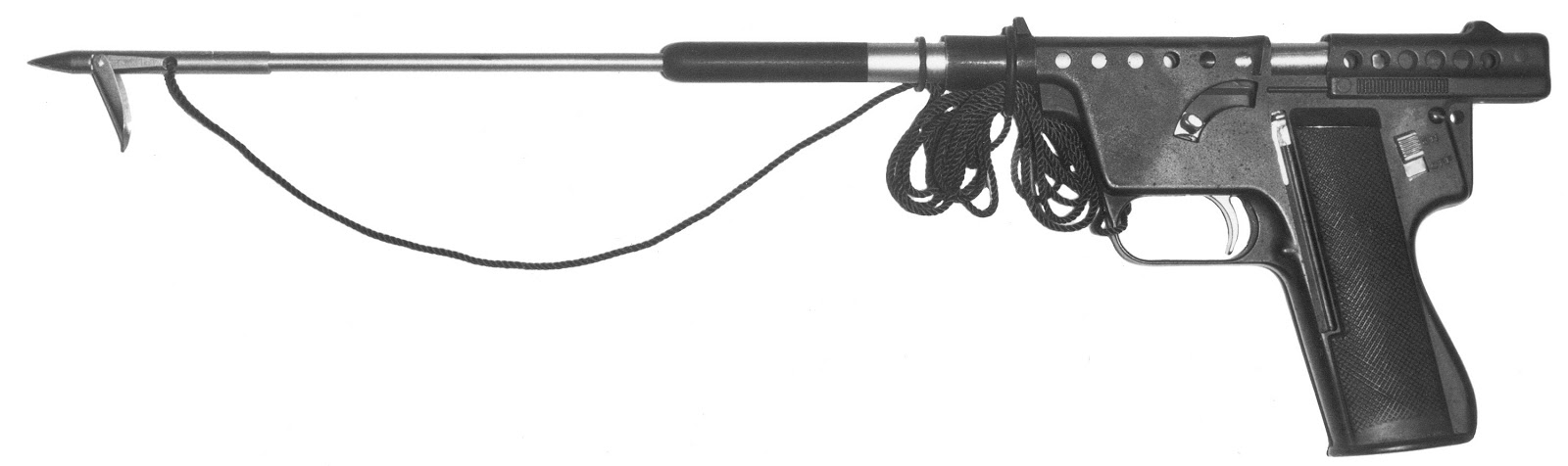 mark i model b gyrojet pistol survival kit
