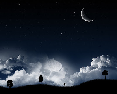 noche con luna