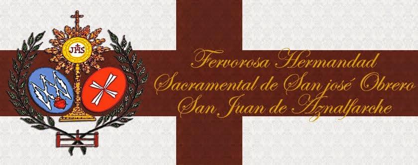 Hermandad Sacramental de San José Obrero de San Juan de Aznalfarache.