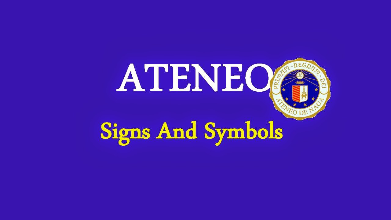 Atene de naga university ateneo signs and symbols ateneo signs and symbols buycottarizona Image collections