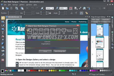 Xara Web Designer 7.0.4 Premium With Crack