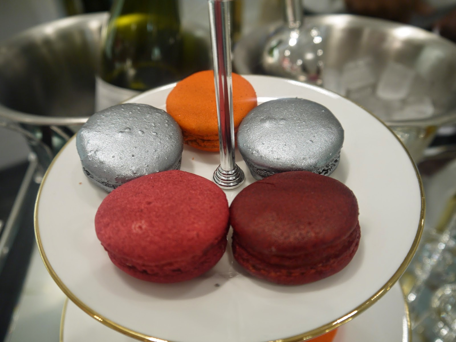 Macaroons at the Kate spade Event