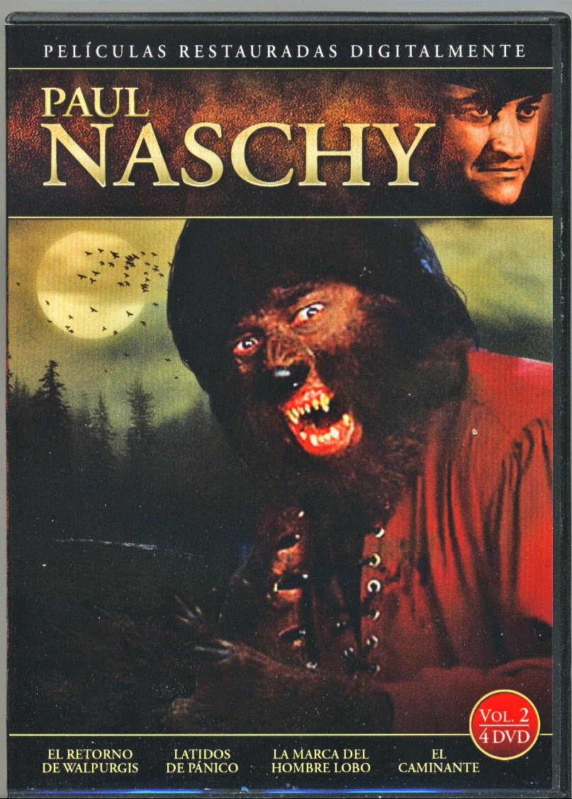 This Is A Look At The Spanish DVD Releases Of Eight Naschys Films By VellaVision These Photos Come To Us From NaschyCasts Third Man