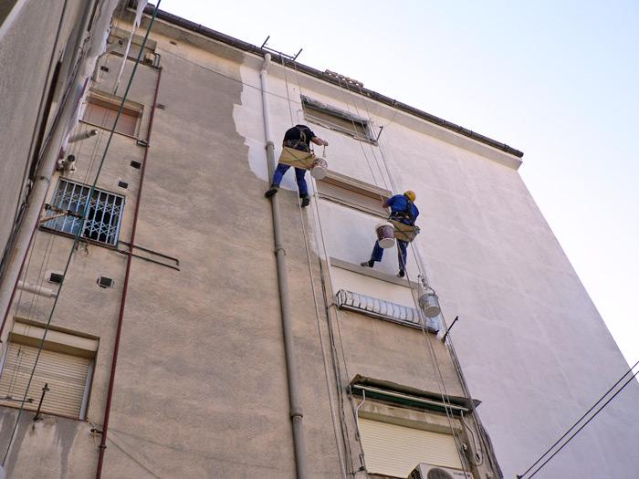 Aplicaciones celeste trabajos verticales fachadas for Materiales para cubiertas exteriores
