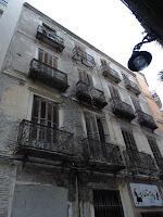 edificio histórico en ruina, calle Juan de Padilla 3