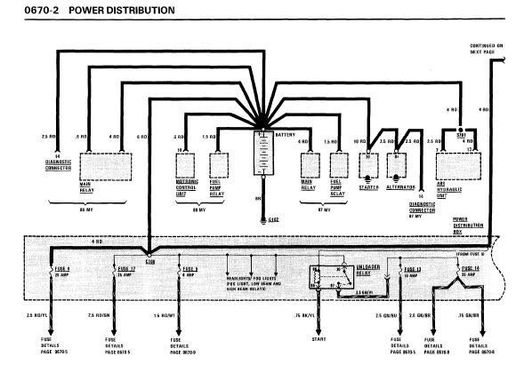 repair manuals bmw 528e 1987 electrical repair rh repair manuals blogspot com 1987 BMW M6 1985 BMW 535I