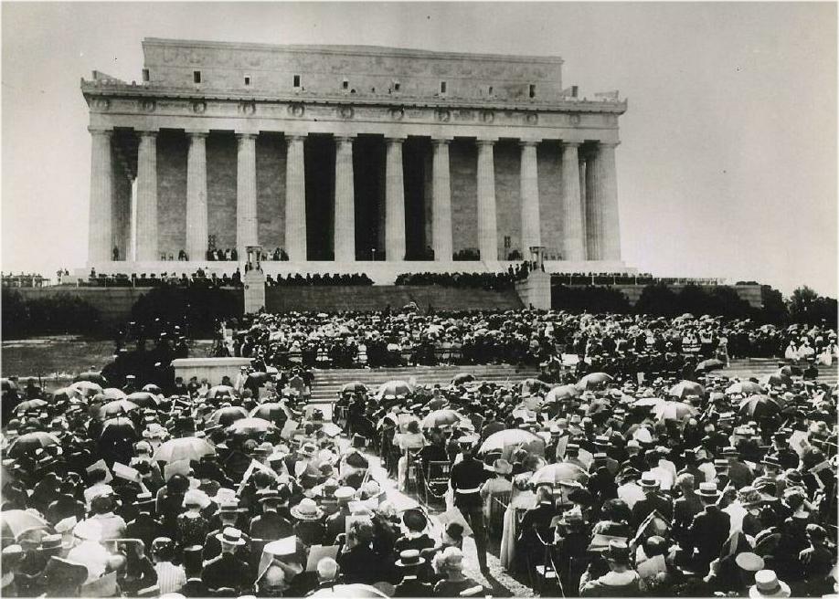 Robert Todd Lincoln At Lincoln Memorial JFK + 50: TAFT DEDICAT...